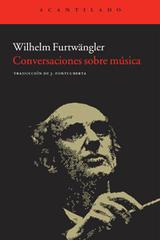 Conversaciones sobre música - Wilhelm Furtwängler - Acantilado