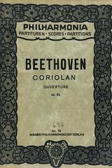 Coriolan. Ouverture op. 62 - Beethoven -  AA.VV. - Otras editoriales