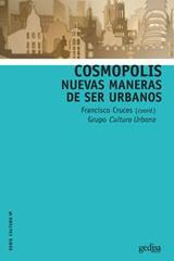 Cosmópolis - Francisco Cruces Villalobos - Editorial Gedisa