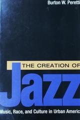 The creation of jazz - Burton W. Peretti -  AA.VV. - Otras editoriales