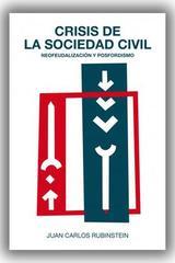 Crisis de la sociedad civil - Juan Carlos Rubinstein - Trama Editorial