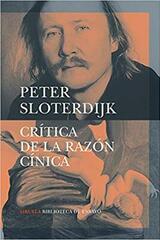 Crítica de la razón cínica - Peter Sloterdijk - Siruela