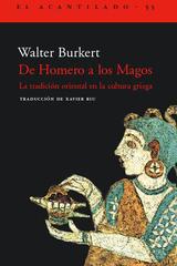 De Homero a los Magos - Walter Burkert - Acantilado
