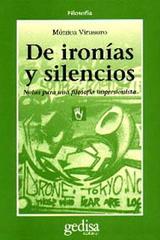 De ironías y silencios - Mónica Virasoro - Editorial Gedisa