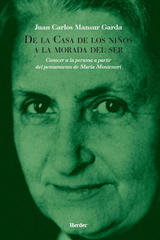 De la casa de los niños a la morada del ser  - Juan Carlos Mansur - Herder México