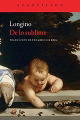 De lo sublime -  Pseudo-Longino - Ediciones Metales pesados