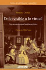 De lo visible a lo virtual - Frederic Chordá - Anthropos