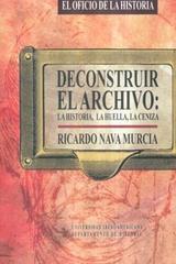 Deconstruir El Archivo: - Ricardo Nava Murcia - Ibero
