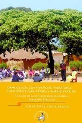 Democracia convivencial, paradigma incluyente para África y América Latina - Omer Buatu Batubenge - Ediciones Eón