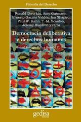 Democracia deliberativa y Derechos Humanos -  AA.VV. - Editorial Gedisa
