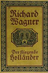 Der Fliegende Hollander - Richard Wagner -  AA.VV. - Otras editoriales
