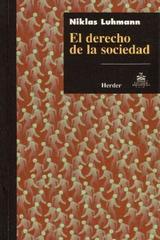 El Derecho de la sociedad - Niklas Luhmann - Herder México
