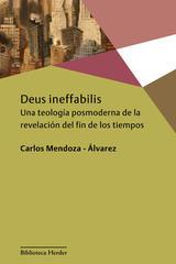 Deus ineffabilis - Carlos Mendoza Álvarez - Herder