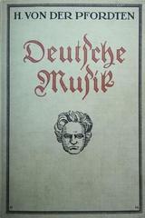 Deutsche Musik -  Hermann Von Der Pfordten -  AA.VV. - Otras editoriales