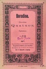 Deuxième quatuor  - Borodine -  AA.VV. - Otras editoriales