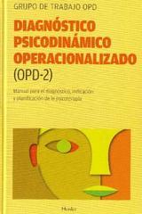 Diagnóstico Psicodinámico Operacionalizado (OPD-2) -  AA.VV. - Herder