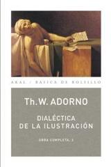 Dialéctica de la Ilustración -  AA.VV. - Akal