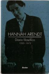 Diario filosófico 1950-1973 - Hannah Arendt - Herder