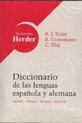 Diccionario de las lenguas española y alemana en CD-Rom - Rudolf Slabý - Herder