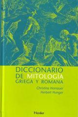 Diccionario de mitología griega y romana - Herbert Hunger - Herder