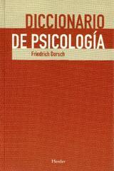 Diccionario de psicología - Friedrich Dorsch - Herder