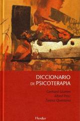 Diccionario de psicoterapia - Gerhard Stumm - Herder
