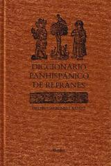 Diccionario panhispánico de refranes - Delfín Carbonell Basset - Herder