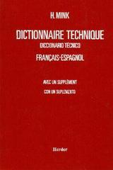 Diccionario técnico francés-español - H. Mink - Herder