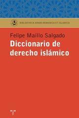 Diccionario de Derecho islamico - Felipe Maíllo - Trea