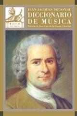 Diccionario de música - Jean-Jacques Rousseau - Akal