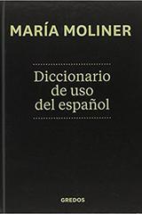 Diccionario uso Español - María Moliner - Gredos