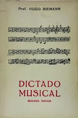 Dictado Musical - Hugo Riemann -  AA.VV. - Otras editoriales
