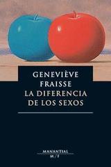 La diferencia de los sexos - Geneviève Fraisse - Manantial