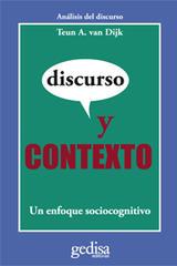 Discurso y contexto - Teun A. Van Dijk - Editorial Gedisa