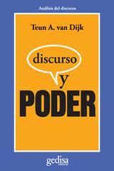 Discurso y poder -  AA.VV. - Editorial Gedisa