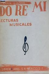 Do re mi lecturas musicales - Luis Sadi -  AA.VV. - Otras editoriales