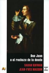 Don Juan o el rechazo de la deuda - Sarah Kofman - Arena libros