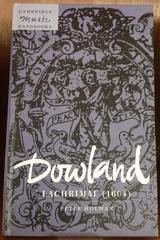 Dowland - Peter Holman - Cambridge University Press