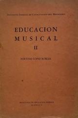 Educación musical II -  AA.VV. - Otras editoriales