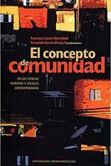 El concepto de comunidad -  AA.VV. - Ibero