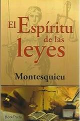 El Espíritu de las leyes - Charles de secondant Montesquieu - Booktrade