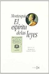 El espíritu de las leyes - Charles de secondant Montesquieu - Akal