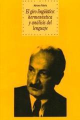 El giro lingüístico - Adriano Fabris - Akal