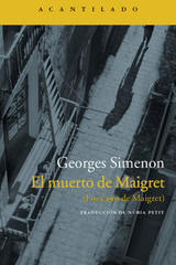 El muerto de Maigret - Georges Simenon - Acantilado