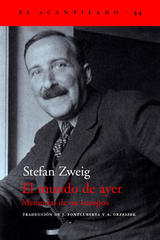 El mundo de ayer - Stefan Zweig - Acantilado