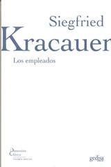 Los empleados - Siegfried Kracauer - Editorial Gedisa