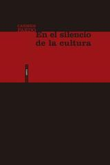 En el silencio de la cultura - Carmen Pardo Salgado - Sexto piso