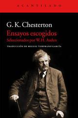 Ensayos escogidos - G. K. Chesterton - Acantilado