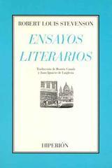 Ensayos literarios - Robert Louis Stevenson - Hiperión