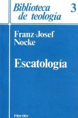 Escatología - Franz-Josef Nocke - Herder